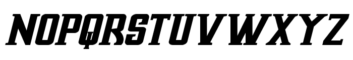 Earthrealm Bold Italic Font UPPERCASE