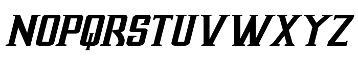 Earthrealm Italic Font UPPERCASE