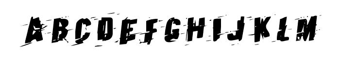 Earthshake Rotalic Font LOWERCASE