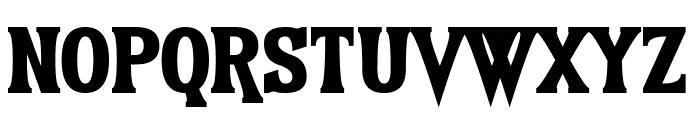 Earthshattering Font UPPERCASE