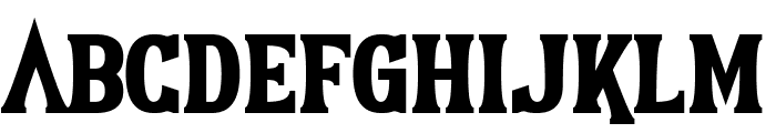 Earthshattering Font LOWERCASE