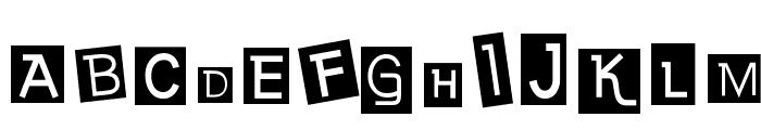 Earwig Factory Font UPPERCASE