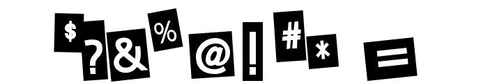 EarwigFactory-Regular Font OTHER CHARS