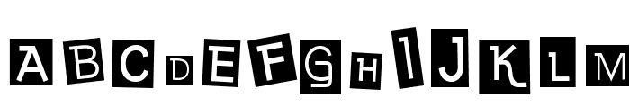 EarwigFactory-Regular Font UPPERCASE