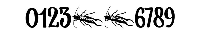 Earworm DEMO Regular Font OTHER CHARS