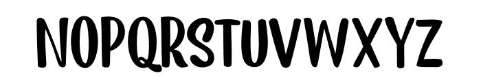 Earworm DEMO Regular Font UPPERCASE