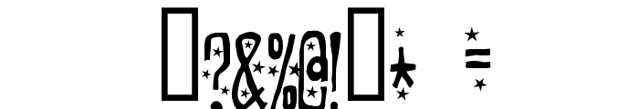 Easily amused Font OTHER CHARS