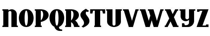 East Market NF Font UPPERCASE