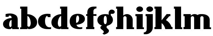 East Market NF Font LOWERCASE
