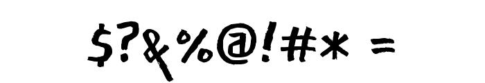 East Sea Dokdo Regular Font OTHER CHARS