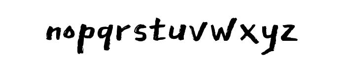 East Sea Dokdo Regular Font LOWERCASE