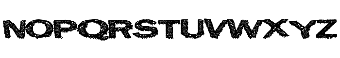EastCity Font UPPERCASE