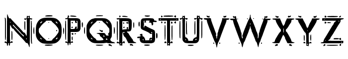 EastGanglia Font UPPERCASE