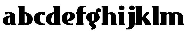 EastMarket Font LOWERCASE