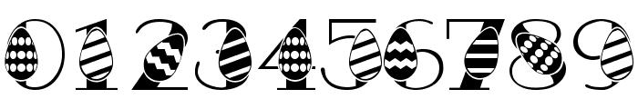 Easter Egg Font OTHER CHARS