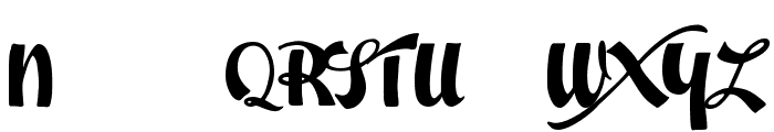 Easter Parade Trial Version Font UPPERCASE