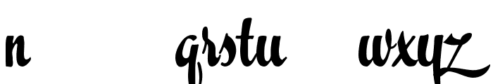 Easter Parade Trial Version Font LOWERCASE