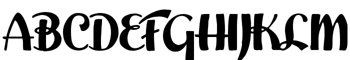 Easter Parade Font UPPERCASE