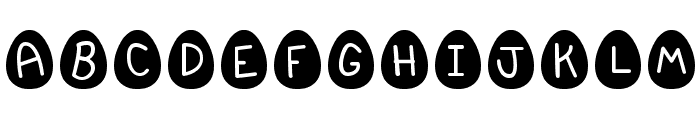 EasterFont St Font UPPERCASE