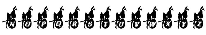 EasterGirl Font UPPERCASE