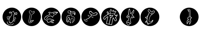EasterIslandsPopart Font OTHER CHARS