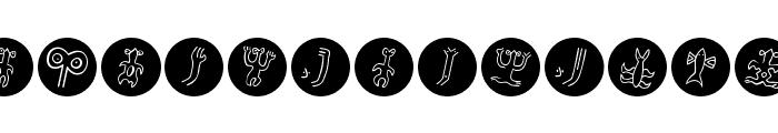 EasterIslandsPopart Font UPPERCASE