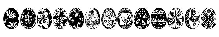 EasterTime Font LOWERCASE