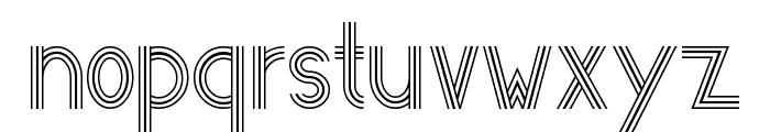 Eastern Antique 101 Font LOWERCASE