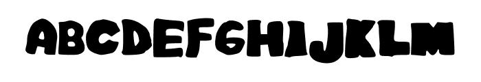 EasyAsABC Font UPPERCASE