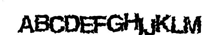 EasyHorror Font UPPERCASE