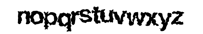 EasyHorror Font LOWERCASE