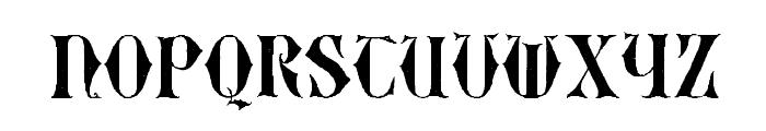 EasyLombardic Two Font LOWERCASE