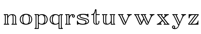 EasyOpenFace Font LOWERCASE