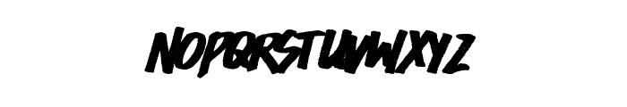 Easycore Font LOWERCASE