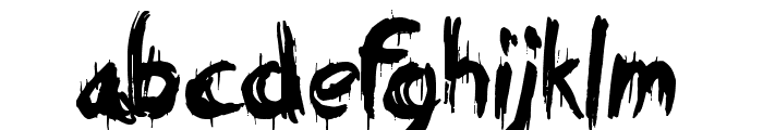 Eating You Alive Font LOWERCASE