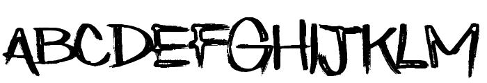Eatn Cake Font LOWERCASE