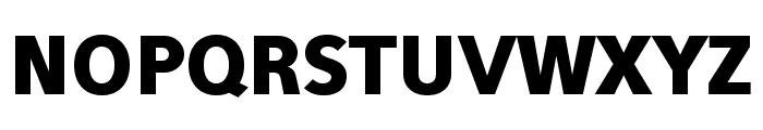 Eau Sans Black Lining Font UPPERCASE