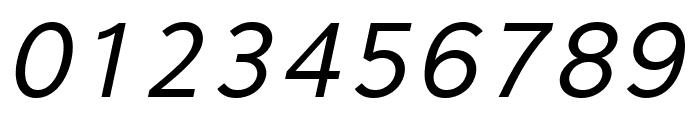 Eau Sans Book Lining Oblique Font OTHER CHARS