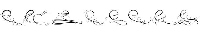 Eau de rose Font LOWERCASE