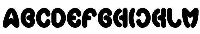 earthheart Font UPPERCASE
