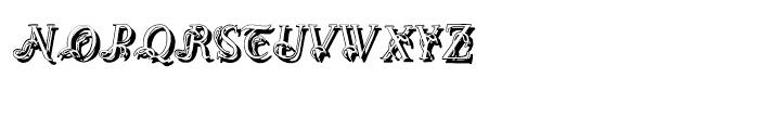 Easy Egmontian Shadow Regular Font LOWERCASE