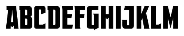 EARTH A.D. Condensed Regular Font UPPERCASE
