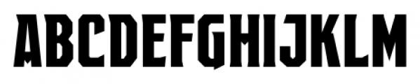 EARTH A.D. Octagonal Regular Font UPPERCASE
