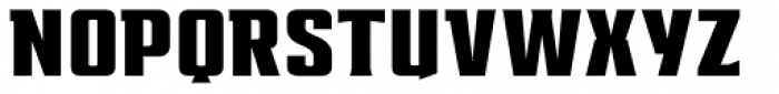 EARTH A.D. Extended Font UPPERCASE