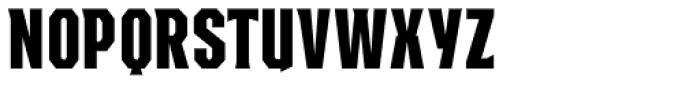 EARTH A.D. Octagonal Font UPPERCASE