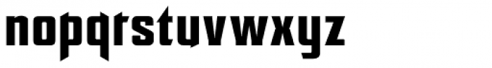EARTH A.D. Vortex Font LOWERCASE