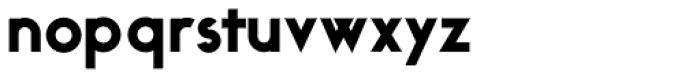 Ealing Black Font LOWERCASE