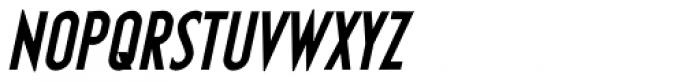 Earthman BB Bold Italic Font UPPERCASE