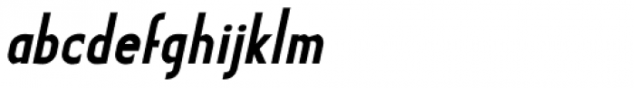 Earthman BB Bold Italic Font LOWERCASE