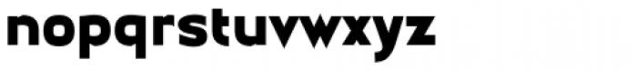 Earthman Ext Heavy BB Font LOWERCASE